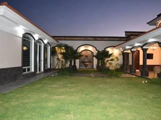 Mediterranean style garden by arketipo-taller de arquitectura Mediterranean