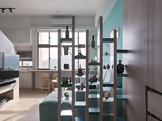Corridor & hallway by 禾光室內裝修設計 ─ Her Guang Design