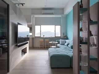 Living room by 禾光室內裝修設計 ─ Her Guang Design, Scandinavian