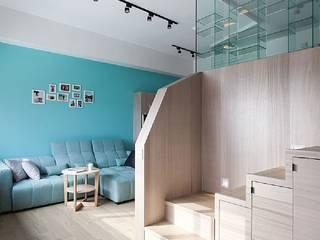 Stairs by 禾光室內裝修設計 ─ Her Guang Design, Scandinavian