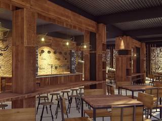 Kaaisungan Sibarrung: Ruang Makan oleh Pr+ Architect, Tropis