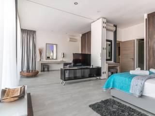 Flooring service in Islington:  Bedroom by Five Star Builders Islington