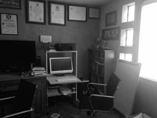 Remodelación de estudio/oficina:  de estilo  por Mono Studio