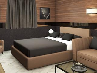: Camera da letto in stile  di Studio Maiden