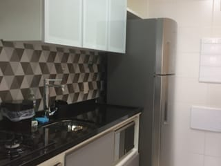 3JP Engenharia Kitchen units Tiles Grey