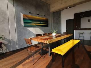 RESIDENCIAL Bachelor Pad Plaza Carso Comedores modernos de SPV ARQUITECTOS Moderno