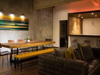 RESIDENCIAL Bachelor Pad Plaza Carso Salones modernos de SPV ARQUITECTOS Moderno