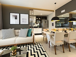 modern  by Juliana Agner Arquitetura e Interiores, Modern
