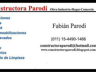 Distintas obras y servicios:  de estilo  por Constructora Parodi