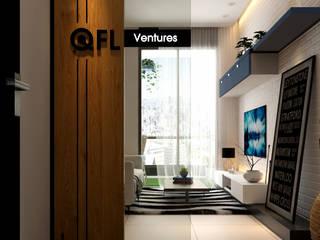 Koridor & Tangga Gaya Skandinavia Oleh Norm designhaus Skandinavia