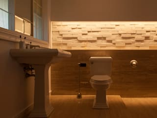RENOVATION MODEL HOUSE モダンスタイルの お風呂 の yuukistyle 友紀建築工房 モダン