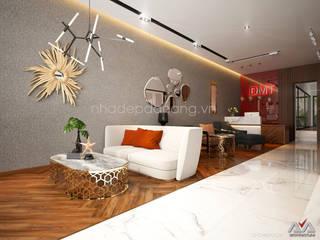 Salon de style  par AVA Architecture,