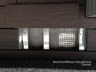 桃園區—陽台地板工程 新綠境實業有限公司 露臺 塑木複合材料 Wood effect