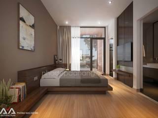 Chambre de style  par AVA Architecture, Moderne