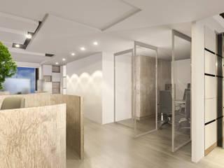 Рабочий кабинет в эклектичном стиле от 司創仁和匯鉅設計有限公司 Эклектичный