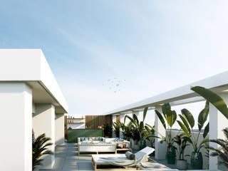 Piscinas de estilo industrial de Inêz Fino Interiors, LDA Industrial