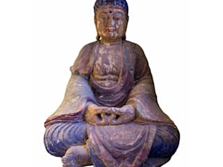 Buda de madera gigante:  de estilo  de Conely