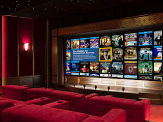 Amazing private cinema Elm Park Andrew Lucas London Electronics