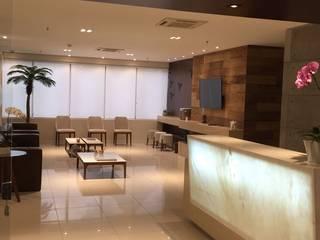 Clinica Médica Escritórios modernos por Danielle David Arquitetura Moderno