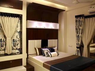 Interior:  Bedroom by pentagram architects