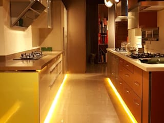 Residence Interiors:  Kitchen by pentagram architects