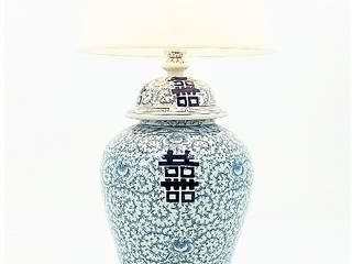 Revivigi WoonkamerVerlichting Porselein Blauw