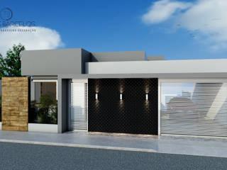 Residência S|P por Tayrine Barcelos Arquitetura e Decoração Moderno