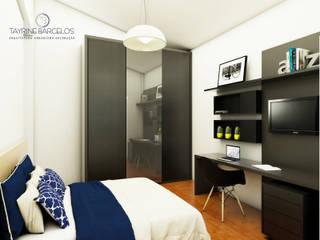 Design de Interiores A|R Quartos modernos por Tayrine Barcelos Arquitetura e Decoração Moderno