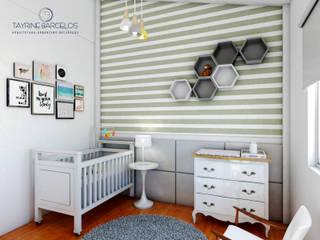 Design de Interiores A|R Quarto infantil minimalista por Tayrine Barcelos Arquitetura e Decoração Minimalista
