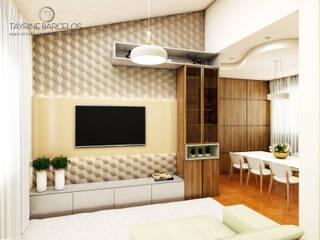 Design de Interiores A|R Salas de estar modernas por Tayrine Barcelos Arquitetura e Decoração Moderno
