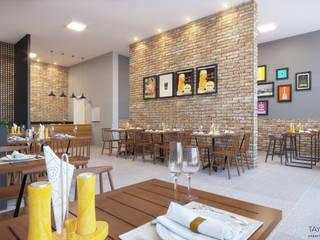 Oficina da Pizza por Tayrine Barcelos Arquitetura e Decoração Rústico