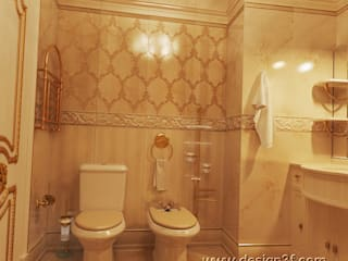 Classic style bathrooms by студия Design3F Classic
