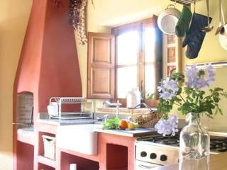 Molino de la Zaza Cocinas de estilo rural de Mirasur Proyectos S.L. Rural
