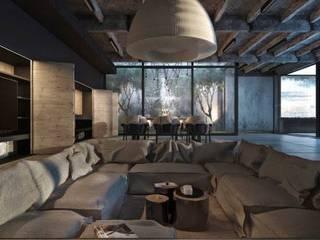 Arquitectura y Construcción Salones modernos de INNOVA Arquitectura y Construccion Moderno