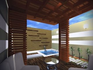 Arquitectura y Construcción : Casas de estilo moderno por INNOVA Arquitectura y Construccion