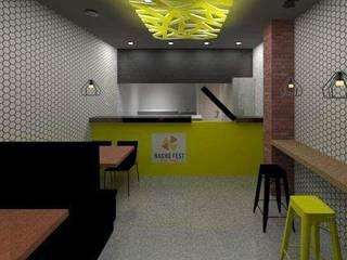 Nacho Fest Paredes y pisos de estilo moderno de Contempo Deco Moderno