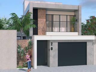 Projeto Residencial: Casas familiares  por Hérica Franco Arquitetura