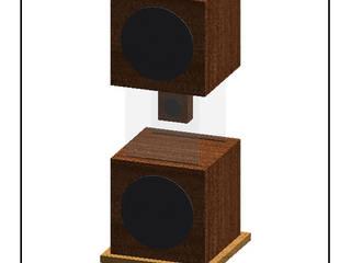 FLOTANTE: pequeño altavoz de mesa elegante de D-fi Sound Clásico