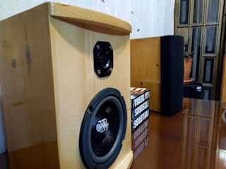 D-fi Sound HouseholdSmall appliances Than củi Wood effect