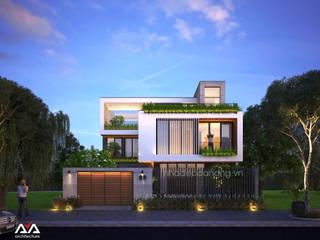 Maisons de style  par AVA Architecture,
