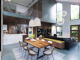 Modern Dining Room by ICON INTERIOR Modern