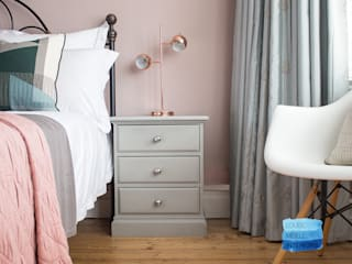Bedroom refresh:  Bedroom by Louise Misell Interiors