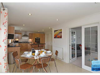 Holiday Rental:  Kitchen by Louise Misell Interiors