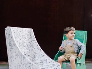 Paola Calzada Arquitectos Garden Furniture Plastic White
