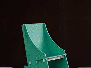Paola Calzada Arquitectos Garden Furniture Plastic Green