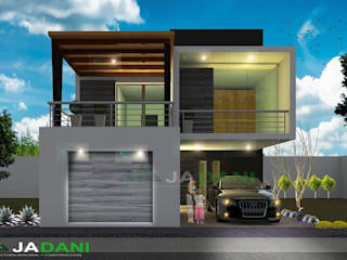 Casa Atzompa Casas modernas de JADANI-ARQUITECTOS Moderno