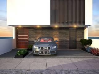 Casa Yuca: Casas de estilo moderno por DMGA Arquitectos