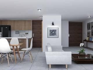 Casa Yuca Comedores modernos de DMGA Arquitectos Moderno