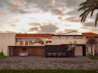 Casa EP: Casas de estilo moderno por DMGA Arquitectos