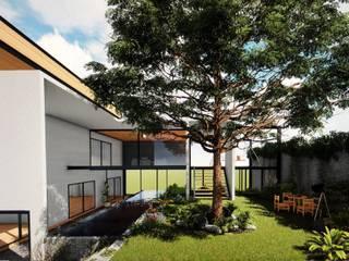 CASA HABITACIÓN: Estanques de jardín de estilo  por GCL Ingeniería y Proyectos